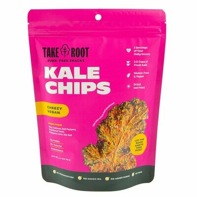 Kale Chips - Cheezy Vegan 60gms