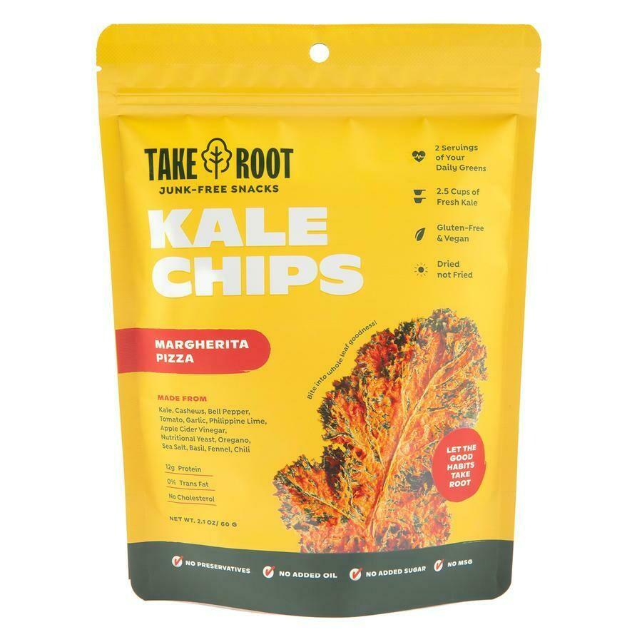 Kale Chips - Margherita Pizza 60gms