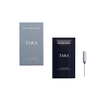 TARA - BHA Overnight Velvet Peel - 12 In a Pack