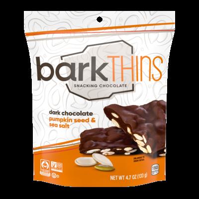 Bark Thins Snacking Chocolate - Pumpkin Seeds & Sea Salt 4.7oz