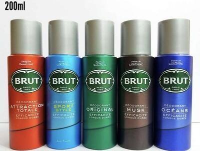 Brut Deodorant Spray for Men 200ml