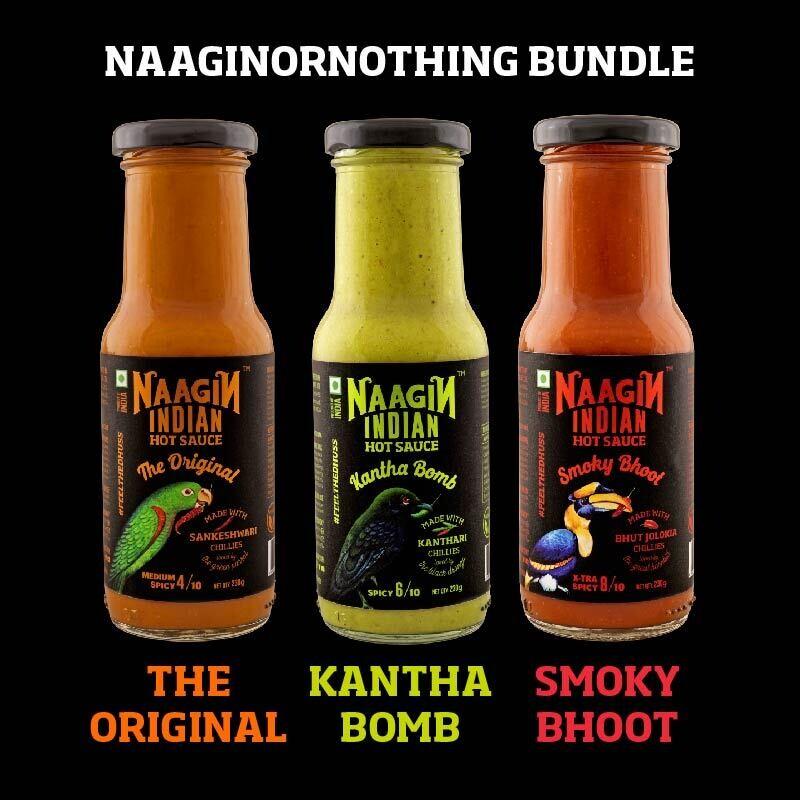 Naagin or Nothing Bundle - 3 Bottles