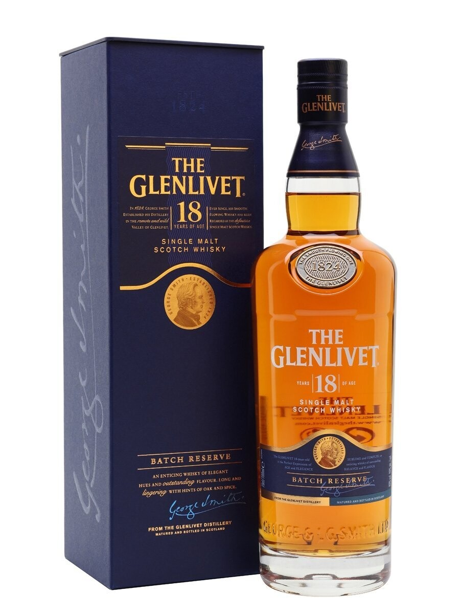 Glenlivet 18yrs - 700ml