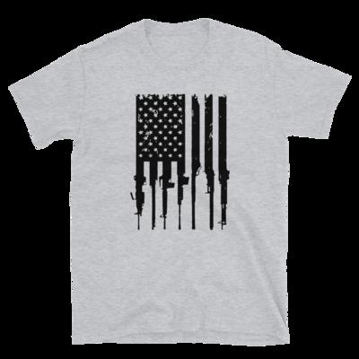 American Flag w/ Guns Tee