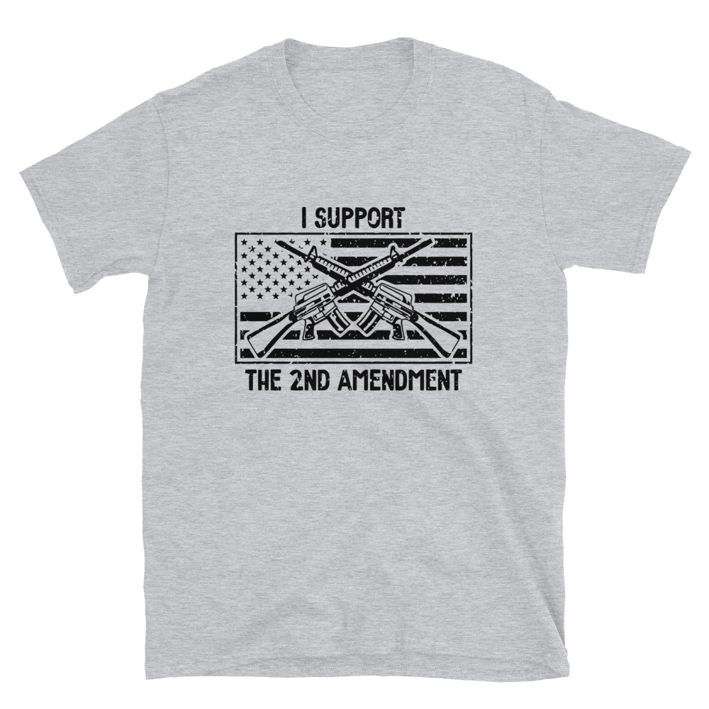 I Support The 2nd w/ Flag Tee