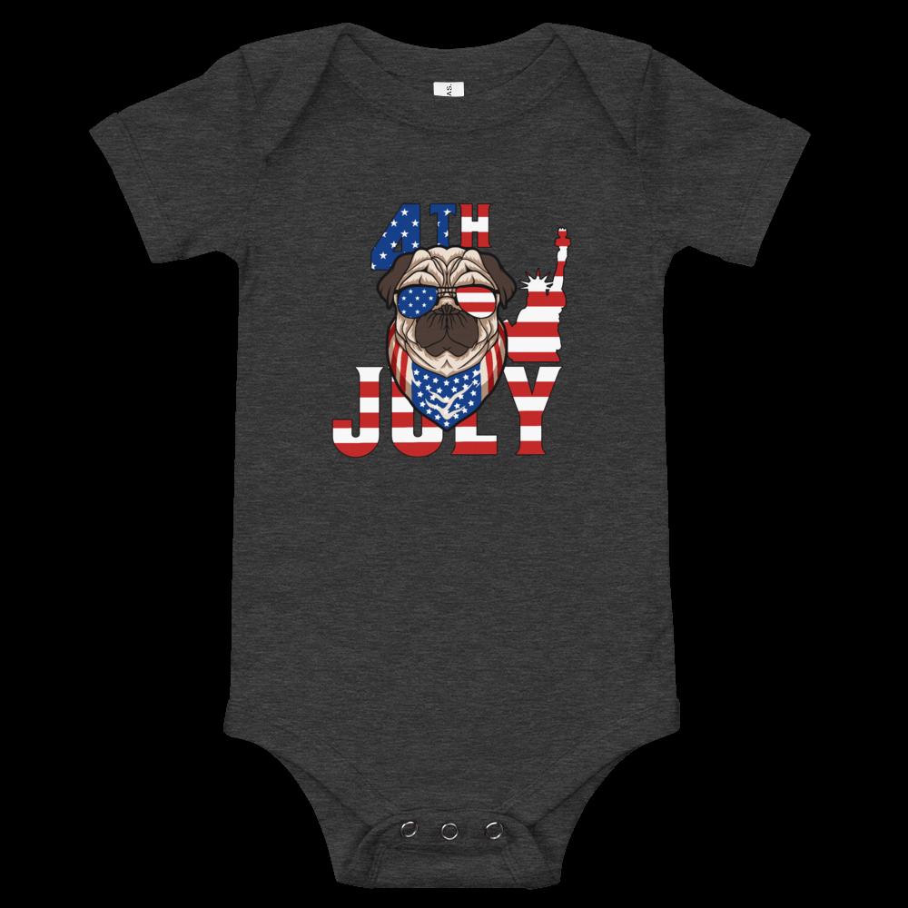 Patriotic Pug Onesie