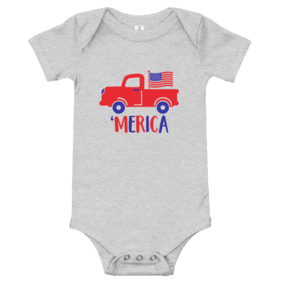 Truck 'Merica Onesie