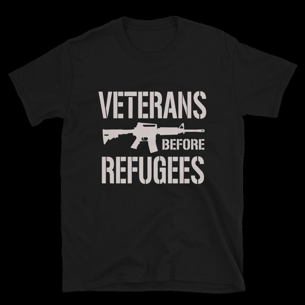 Veteran Before Refugees Tee