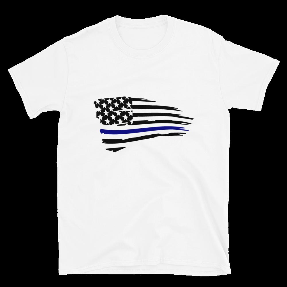 Blue Lives Flag Tee