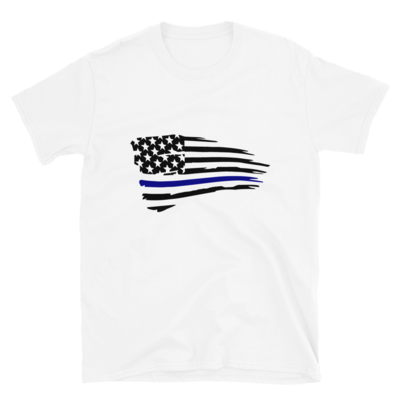 Blue Lives Flag Tee