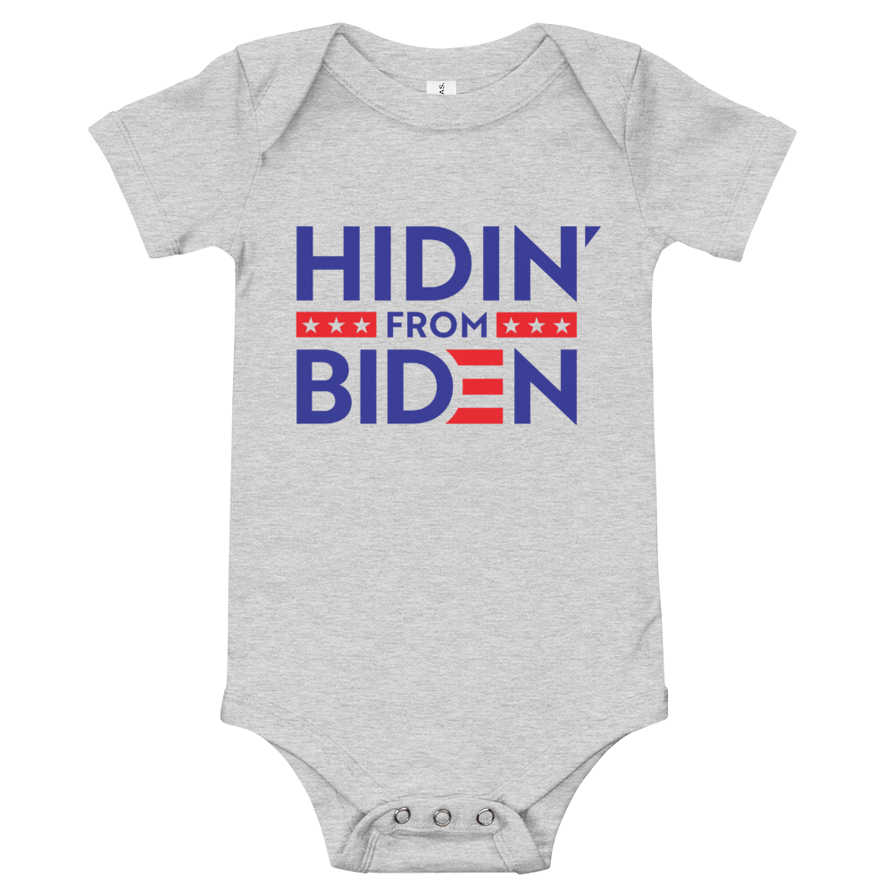 Hidin' from Biden Onesie