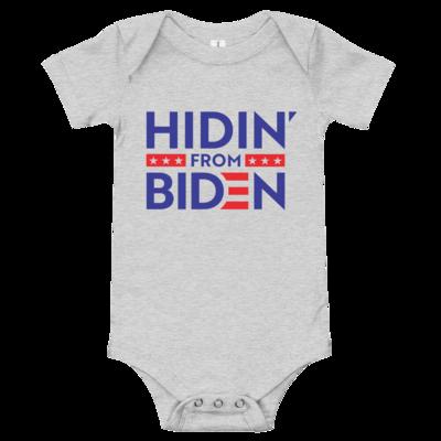 Hidin' from Biden Onesie