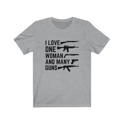 Love One Woman and Many Guns