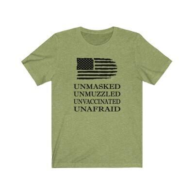 Unmasked - Unmuzzled - UnVax'd - Unafraid