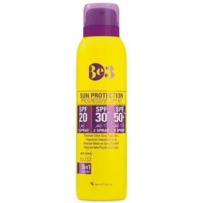 Солнцезащитный спрей с прогрессивным SPF 20/30/50 Be3
