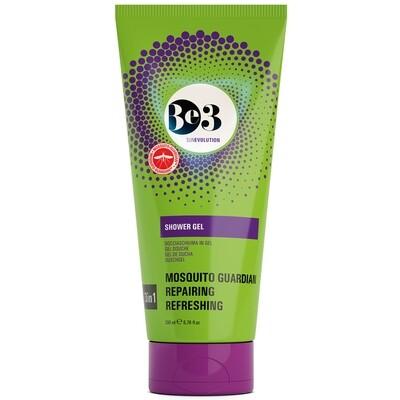 Гель для душа с успокаивающим действием после солнца и защитой от комаров / Shower gel with mosguito guardian Be3