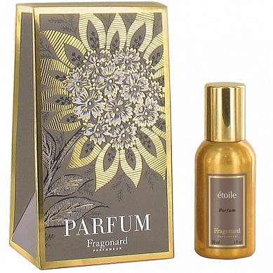Звезда духи в золотом флаконе 30 мл / Etoile perfume gold bottle 30 ml