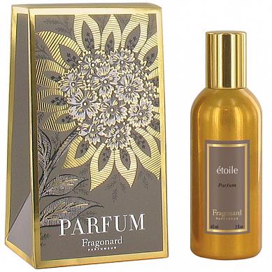 Звезда духи в золотом флаконе 60 мл / Etoile perfume gold bottle 60 ml