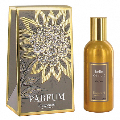 Красавица ночи духи в золотом флаконе 60 мл / Belle de nuit perfume gold bottle 60 ml