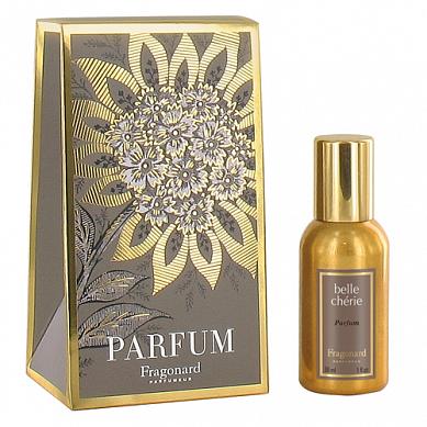 Милая красавица духи в золотом флаконе 30 мл / Belle cherie perfume gold bottle 30 ml
