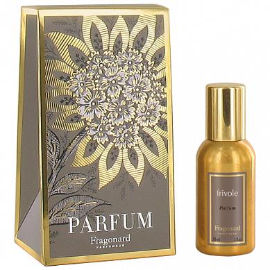 Фриволь духи в золотом флаконе 30 мл / Frivole perfume gold bottle 30 ml