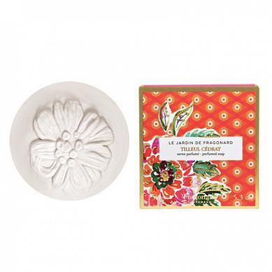 Лимонная липа мыло туалетное ароматизированное 150 г / Tilleul cedrat soap 150 g, шт