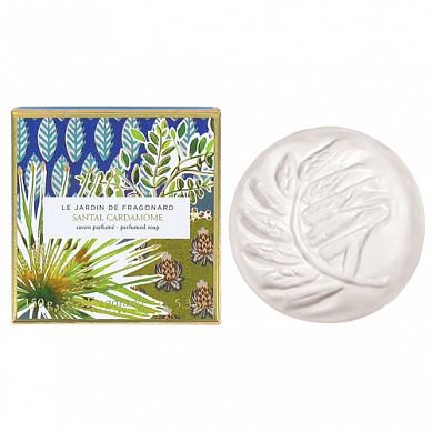 Сандал кардамон мыло туалетное ароматизированное 140 г / Santal Cardamome soap 150 g, шт