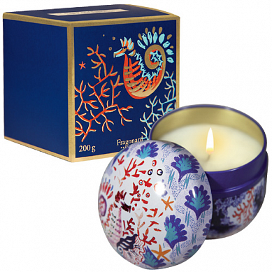 Мята и базилик свеча ароматическая 200 г / Menthe basilic candle 200 g, шт