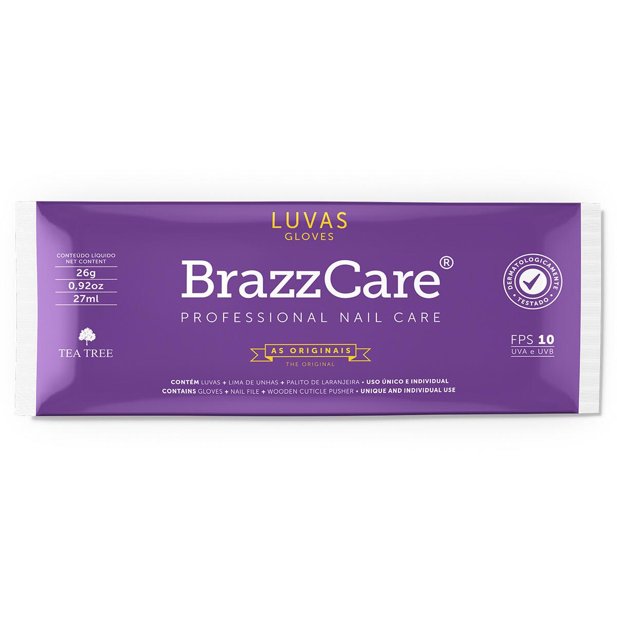 Перчатки для бразильского маникюра BrazzCare