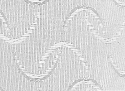 Bader White Vertical Slats