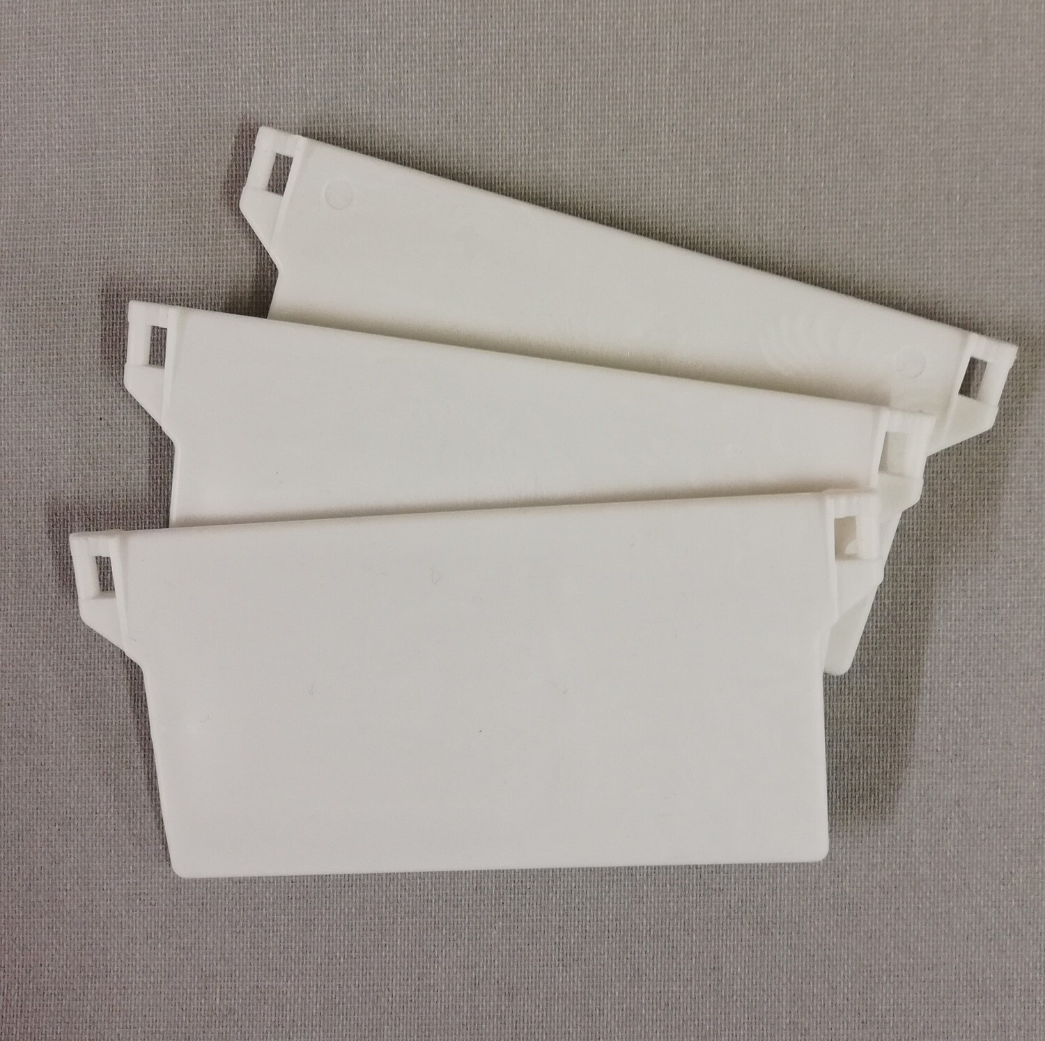 Vertical Blind Weights (white)