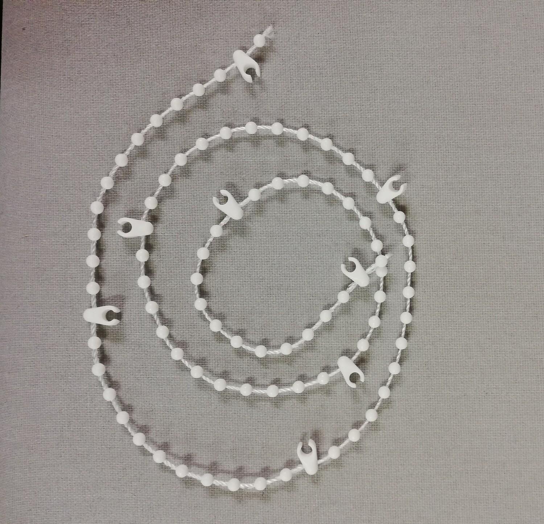 Vertical Blind Bottom Chain (white)