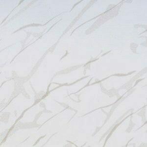 Roller Blind - PVC Fabric: Sahara White B12