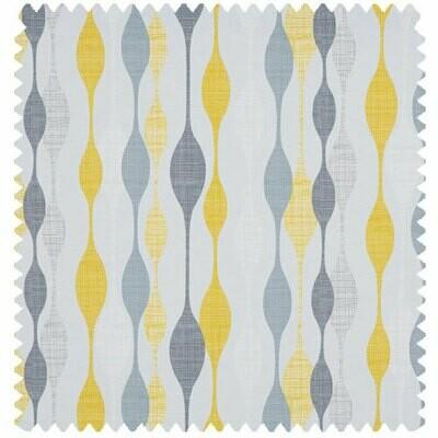 Roller Blind - Fabric: Ribbon Daffodil A19