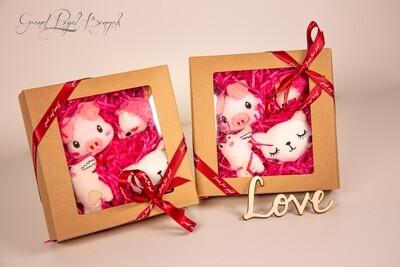 Pink Handmade 4 Toys Set