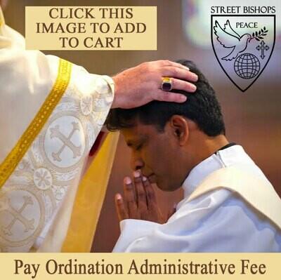 Pay Ordination Administrative Fee