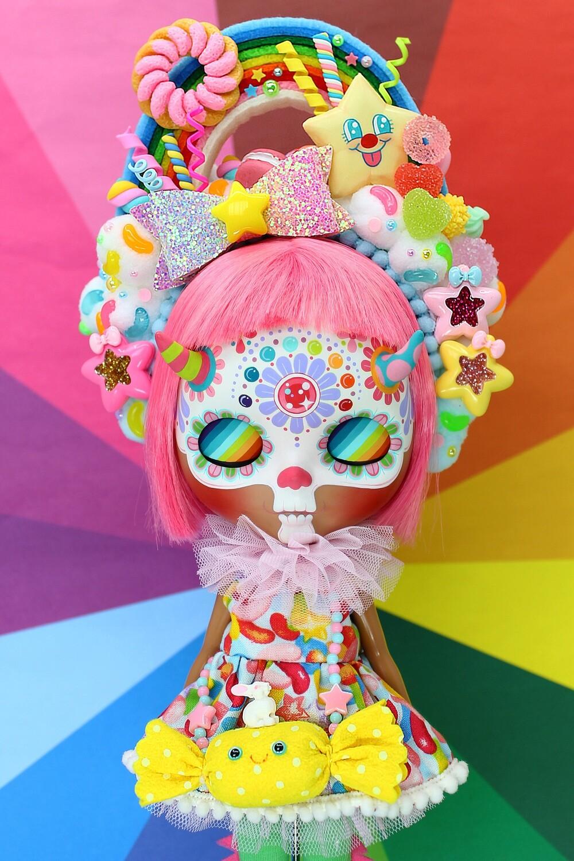 Sweet dress set for Neo Blythe - Cry Me A Rainbow