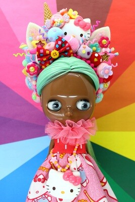 Sweet dress set for Neo Blythe - Hello Kitty