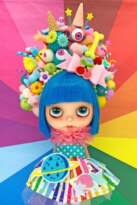 Sweet dress set for Neo Blythe - Shine Bright Like A Rainbow