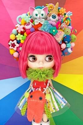 Sweet dress set for Neo Blythe - Big Big Rainbow
