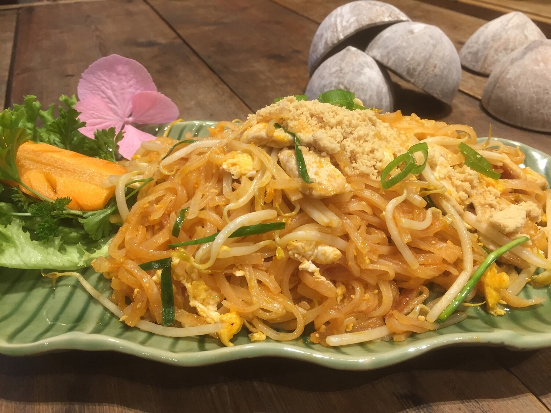 38. PAD THAI KAI/MOO/TOFU