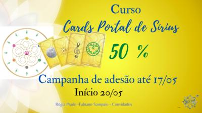 CURSO -  Cards Vibracionais  Portal de Sírius - RP