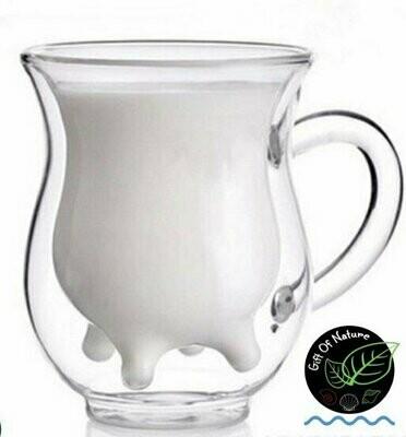 Moo Glass Cup 300ml