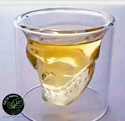 Skull Whisky Glass 200ml