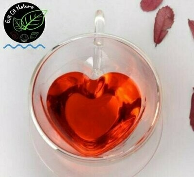 Heart Glass cup 240ml