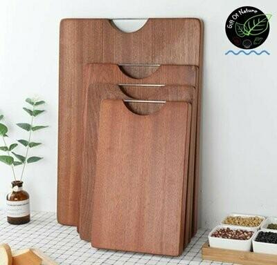 Sapele Wood Chopping Board 45 cm