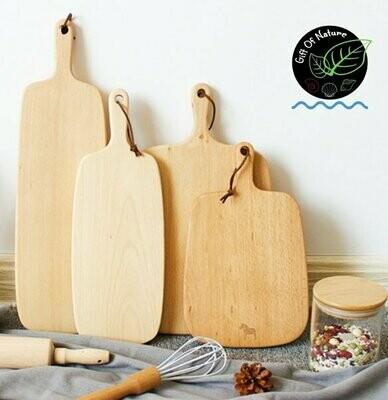 Birch Wood Round / Long Chopping Board