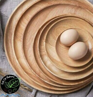 Wooden Serving Plate, various sizes available