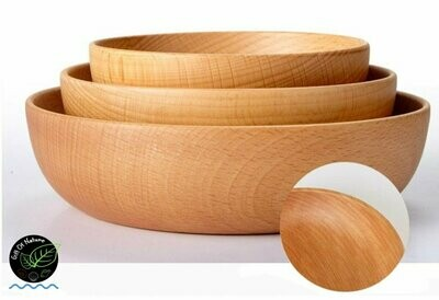 Wooden Salad or Rice Bowl