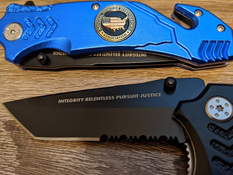 Folding Rescue Tool Knife